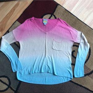 Adorable C&C California Ombré Sweater